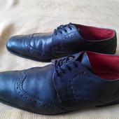 Кожаные туфли Tom Wolfe р.42-26.5см.