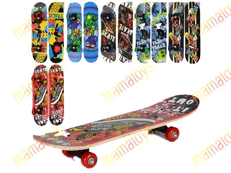 Скейт детский. ms 0323-3. profi  60см фото №1