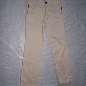 р. 146-152, зауженные джинсы брюки со стразами Algara для девочки подростка