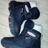 Сапоги сапожки ботинки утепленные 26 размер 17 см стелька