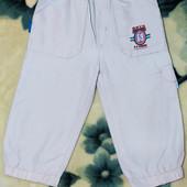 Штанишки (штаны, брюки) ТМ Komulino, р. 80 см, светло-бежевые, в хорошем состоянии
