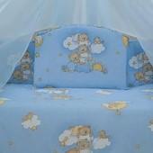 Комплект детской постели 12 ед. в кроватку.