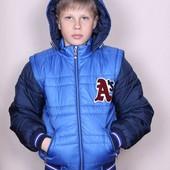 Куртка - жилетка (трансформер)
