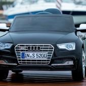 Электро автомобиль Audi S5 черная легковая на р. у. 6v7ah с mp3 T-796 электромобиль