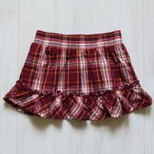 Яркая стильная юбка для девочки. Внутри на подкладке. Пояс на резинке. Zeeman. Размер 2 года