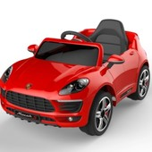 Электро автомобиль T-768 красный легковая на р. у. 2 6v4.5ah с mp3 электромобиль