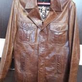 Куртка Linea с натуральной кожи L