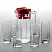 Набор для напитков Кошем (7 предметов) Pasabahce 97415