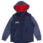 Весенняя куртка -жилетка для мальчиков ,размеры 36-44 ,опт и розница