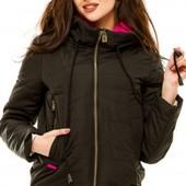 Размеры 42-50 Стильная демисезонная женская куртка