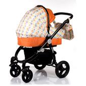 Универсальная коляска 2в1 Valenta Babyhit Китай оранжевый 12122447
