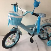 Детский велосипед для девочек, с колёсами 14 от 4-х лет