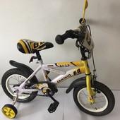 Детский велосипед для мальчиков, 12 от 2-х до 4-х лет