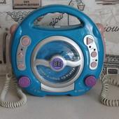 CD плеер с микрофонами