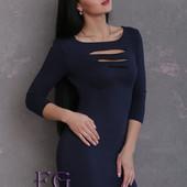 Платье  перфорацией  Распродажа модели размеры и цвета уточняйте