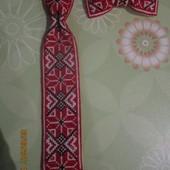 Вишиті набори (галстук, бабочка)