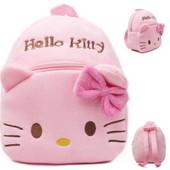 Детский плюшевый рюкзак Hello kitty