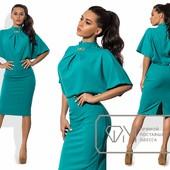8624 Стильное платье 4 цвета