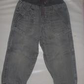 джинсы- джоггеры  на 2-3 года
