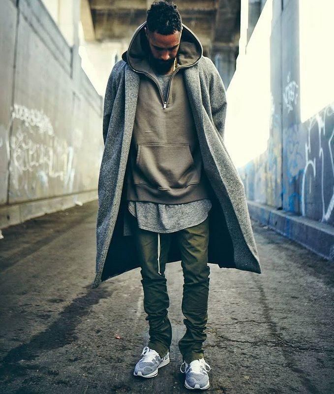 Хлопковые хип хоп брюки фото №7