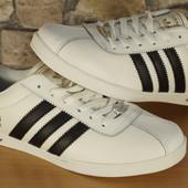 Мужские кроссовки (кеды) Adidas Gazelle Адидас Газель кожа