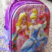 Школьный рюкзак 3Д принцесса (1