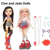 Bratz набор из 2 кукол Cloe and Jade