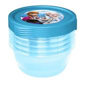 Набор для снеков /ланч боксы/ 5х0,5 л 'Frozen' Okt z3042 Польша голубой 12123060