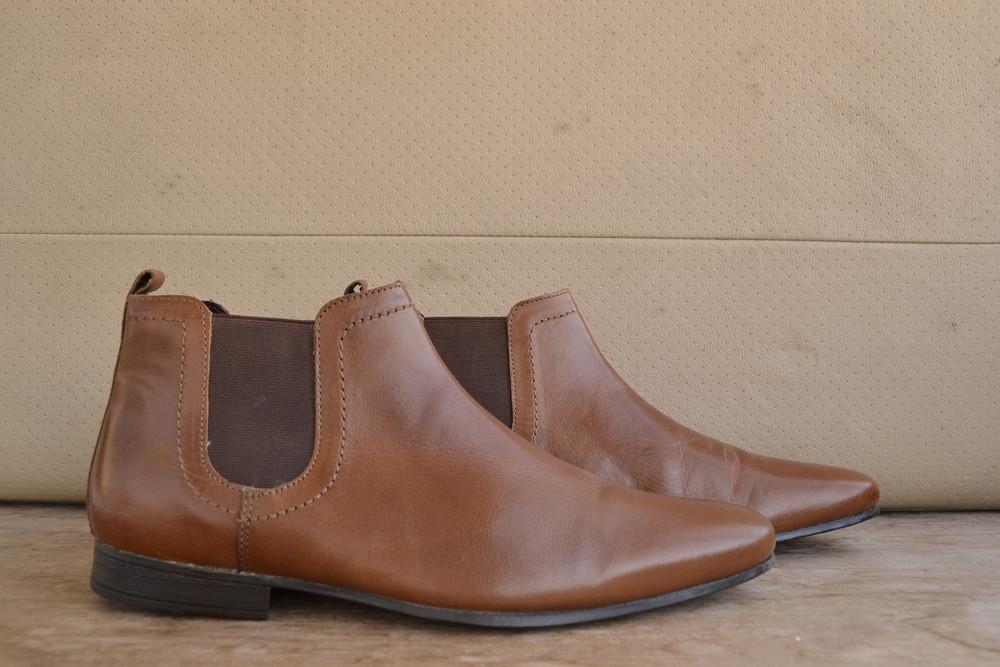 -Chelsea Boots Topman -made in India -размер 43  -полная длина стельки 30 см -состояние отличное (СТ фото №1