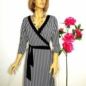 Платье на запах Oasis р 14/XL / Большой выбор фирменных платьев