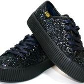 Модные  подростковые ботинки криперы Кylie Польша, 27-35р,  K1646201