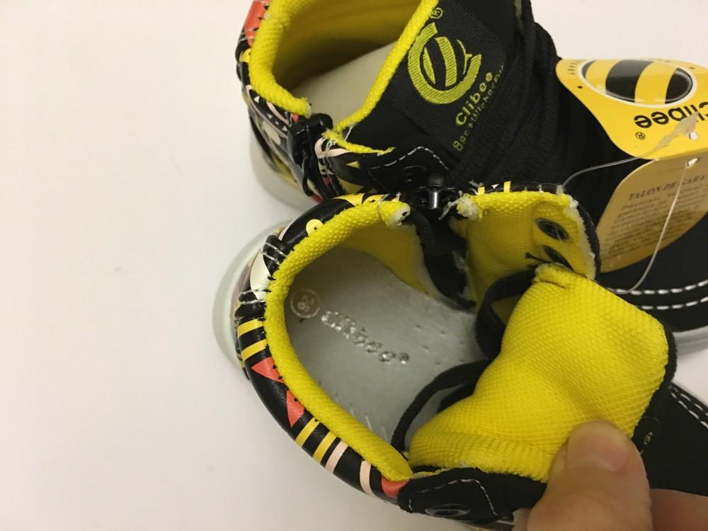 Ботинки нубук для мальчика clibee фото №5