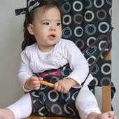 Компактный детский дорожный стульчик для кормления Тотсит Totseat