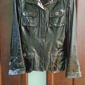 Пиджак кожаный р.S