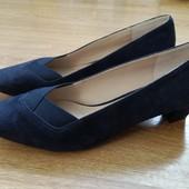 Новые туфли footglove р.40 26 см, замш