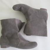 ботинки замшевые р.36