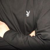 Стильная фирменная кофта реглан худи секси оригинал бренд  Playboy (Плейбой).хл-2хл .