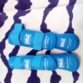 Защита для ног (голень+стопа) разбирающаяся синяя