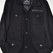сток большой выбор брендовой одежды шерстяное  пальто с утеплителем теплое