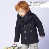 Пальто детское на мальчика 483 кэт