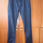 Синие брюки Zara 30 размер