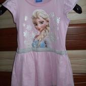 Платье Холодное Сердце Y.D.на 6-7 лет