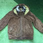Фирменная замшевая курточка Mibet-2.Размер 48.