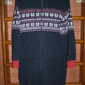 Пижама флисовая мужская, размер L рост до 172 см