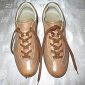 р. 38.5 Hogan кроссовки кожаные спортивные туфли, сникерсы