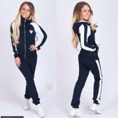 Размеры 42-56 Стильный женский спортивный костюм