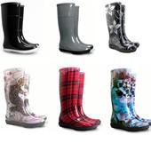 Готовимся к дождику  .стильные женские резиновые сапоги демар