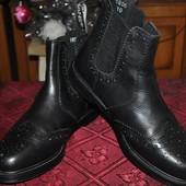 Ботинки мужские BlackMans Деми натуральная кожа 100 всего изделия