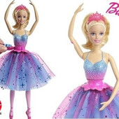 Кукла Барби Танцующая балерина -barbie dance & spin ballerina doll CKB21