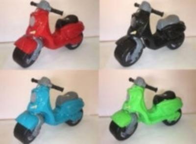 Беговел мотоцикл Орион 502, расцветки в ассортименте (новинка розовый) фото №1